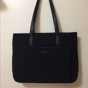 Vera Bradley Black Tote Bag